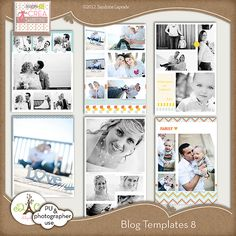 templates for photographers ! blog templates