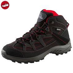 Mckinley Multi-Schuh Discover Mid Aqx M - black/red dark, Größe:45