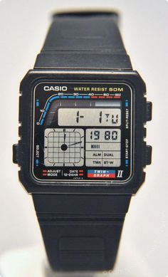 Be it functionality or looks, Casio Watches have it all. Once you discover exactly what you want, some online detective work over the internet will allow you to get the best offers. Retro Watches, Old Watches, Swiss Army Watches, Vintage Watches, Watches For Men, Unique Watches, Popular Watches, Affordable Watches, Casio Vintage Watch