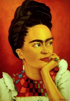 """""""Para Frida con amor"""" by Maria Beatriz Navarrete Cayón, via Behance"""
