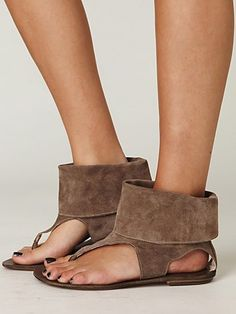 sandals. i don't know if i could pull these off. but i really like them!