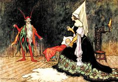 """Warwick Goble, 1923, from """"The Fairy Book - The Best Popular Fairy Stories"""""""