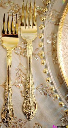 Wedding Gold Cutlery                                                                                                                                                                                 More