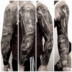 Statue sleeve by Rob Richardson.