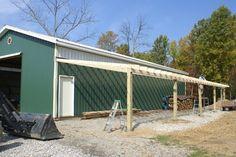 DIY Lean to off barn - Google Search