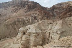 Qumran, Israel,  where the Dead Sea Scrolls were discovered