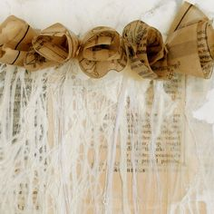 Page Encaustic by theshophouse on Etsy, $300.00