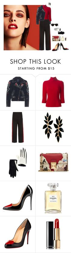 """26/11/16"" by srtagraham ❤ liked on Polyvore featuring Chanel, True Religion, Dolce&Gabbana, Alexander McQueen, Vincent Pradier, Posh Girl and Christian Louboutin"