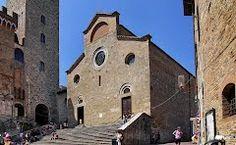 The Collegiate Church -Piazza del Duomo in San Gimignaro, Gotiek.
