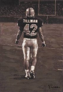 The Pat Tillman Foundation has chosen Arizona State University as University Partner for the academic year in support of the Tillman Military Scholars program, which provides scholarships Military Veterans, Military Life, Military Gear, Nfl Football, College Football, Football Players, 11. September, April 22, Arizona State University