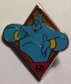 Disneyland 60th Anniversary Diamond Mystery Flik Disney Pin