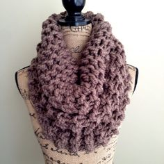 Outlander inspired super chunky knit cowl womens by DesignByEJ, $41.00