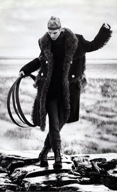 #AymelineValade by #BooGeorge for #VogueJapan January 2015