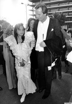 Angelina Jolie at the '86 Oscars