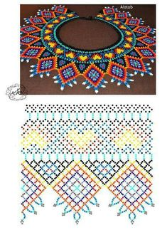 Crochet afghan for kids stitches 59 Ideas Diy Necklace Patterns, Beaded Jewelry Patterns, Beading Patterns, Crochet Books, Bead Crochet, Crochet Stitch, Beading Projects, Beading Tutorials, Beaded Crafts