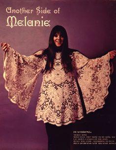 melanie safka. 1960s.