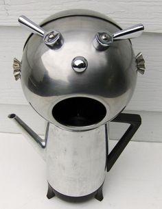 Coffee pot hack. Strange.