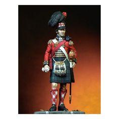 """Fuciliere del rgt. di fanteria """"black watch highlanders"""" inglese"""
