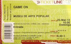 "Museu: ""Game On"", Museu de Arte Popular. 2012-03-25."
