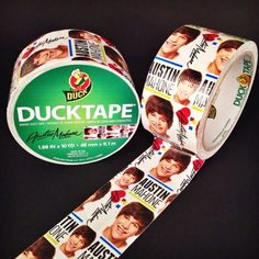 Austin Mahone Duck Brand Duct Tape Arrives For His Fans