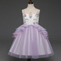 af6bd9367 Buy Fancy Girls Dresses Christmas or Wedding Dresses 1- 8 Years White Pink  at LeStyleParfait.Com for only $31.00 USD | Rokkies | Pinterest | Girls  dresses, ...