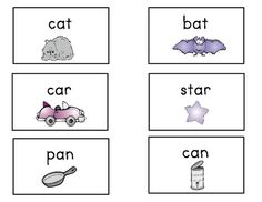 These rhyming word pair cards can be used whole class or in centers.  The cards have words and pictures so that all learners are successful.  Print...
