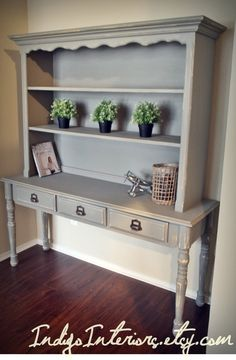 Hey, I found this really awesome Etsy listing at https://www.etsy.com/listing/182254885/shabby-chic-gray-bookcase-sofa-table