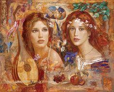 Goyo Dominguez Melodia Mixed media on panel 100 x 81 cm (39 x 32 in) Flor de la Noche Mixed media on panel 48 x 122 cm (19 x 4