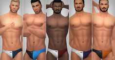 Sims 4 CC's - The Best: Briefs by XLDSims