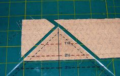 Quilting adventures: Mass Production Half Square Triangles..... a tutorial....!
