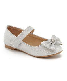 Silver Bow Mary Jane #zulily #zulilyfinds