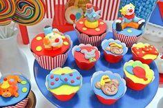 Festa infantil com tema circo