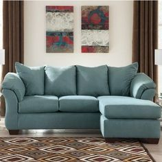 Buy Parthena Darcy Reversible Chaise Sectional