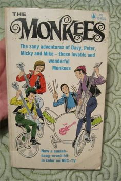 BUY IT NOW  THE MONKEES Band Cartoon/Comic Softcover paperback book RARE (fawcette / liss)1966