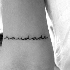 saudade tattoo - Recherche Google