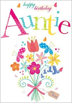 Happy Birthday Aunt | Coloring Page | Party Ideas | Happy ...