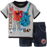 Baby Boy Clothing Sets, Cute Baby Clothes, Elmo And Friends, Shopping Catalogues, Elmo Birthday, Little Man, Black Shorts, Best Brand, Baby Boy Outfits