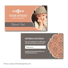 Squijoo.com - Referral Card Template | Marketing | Pinterest ...