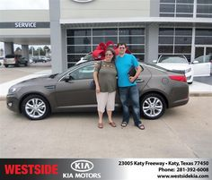 "https://flic.kr/p/t3wD2L | #HappyAnniversary to Donna Federico on your 2013 #Kia #Optima from Everyone at Westside Kia! | <a href=""http://www.westsidekia.com/?utm_source=Flickr&utm_medium=DMaxxPhoto&utm_campaign=DeliveryMaxx"" rel=""nofollow"">www.westsidekia.com/?utm_source=Flickr&utm_medium=DMa...</a>"