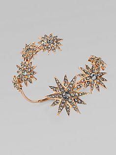 CA Etoile Sparkle Coil Bracelet #Saks #givesaks