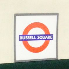 Russel square tube station