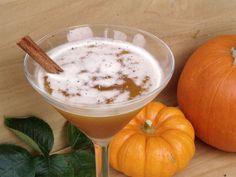 The Jack-O-Lantern Halloween martini--Jack Daniels, spiced apple cider, pumpkin puree, maple syrup, and dash cinnamon. @Danielle Mason