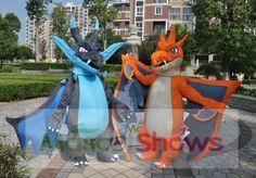 Méga-Dracaufeu X (anglais : Mega-Charizard X ; japonais : メガ リザードン X Mega Lizardon X) est un Méga-Pokémon de type Feu et Dragon. C'est une des Méga-Évolutions de Dracaufeu. Méga-Dracaufeu Y (anglais : Mega-Charizard Y ; japonais : メガ リザードン Y Mega Lizardon Y) est un Méga-Pokémon de type Feu et Vol. C'est une des Méga-Évolutions de Dracaufeu.