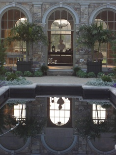 Orangerie and reflecting pool, Tendenze Design