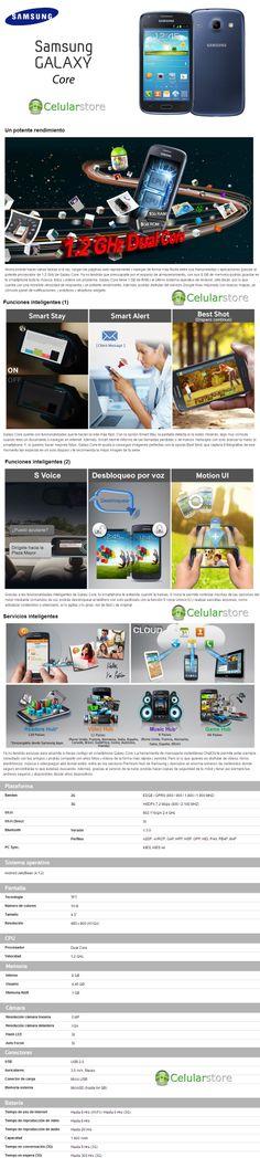 Precio nuevo Galaxy Core i-8260 argentina