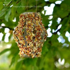 I took the opportunity to teach my daughter about conservation and recycling with this fun bird feeder craft project, because it's never…