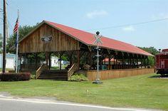 Hilda, SC - Railroad Depot  (Photo courtesy of John D. Jones)