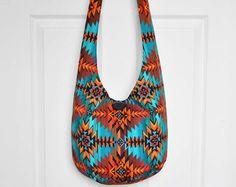 Hobo Bag Boho Bag Crossbody Bag Sling Bag Hippie by 2LeftHandz