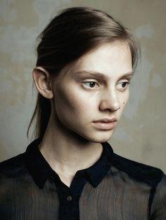 Untitled portrait shot by Maarten Schröder