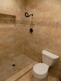 3 Far-Sighted Cool Tips: Open Shower Remodel shower remodeling on a budget color schemes.Shower Remodel Space Saving small shower remodeling before and after. Tan Bathroom, Master Bathroom Shower, Lowes Bathroom, Bathroom Updates, Best Bathroom Designs, Modern Bathroom Design, Bathroom Interior Design, Travertine Bathroom, Small Shower Remodel